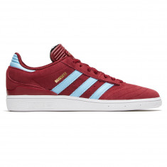 29fe489bb72 Adidas Busenitz Shoes - Collegiate Burgundy Clear Blue White