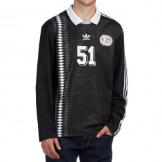 Adidas Johnson Jersey - Black/White/Solid Grey