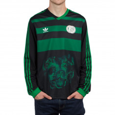 Adidas Tyshawn Jersey - Black/Green