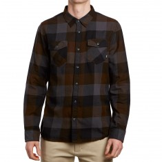 Vans Box Flannel Shirt - Black/Asphalt