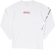 Vans Side Waze Longsleeve T-Shirt - White