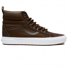 'Vans Sk8-Hi MTE Shoes - Demitasse/Ballistic' from the web at 'https://cdn.ccs.com/media/catalog/product/cache/4/small_image/235x/9df78eab33525d08d6e5fb8d27136e95/1/9/191163341120-1.1507126148.jpg'