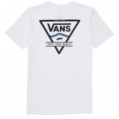 Vans Classic Side Stripe T-Shirt - White