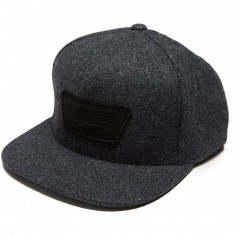 Vans Full Patch Snapback Hat - Black Heather