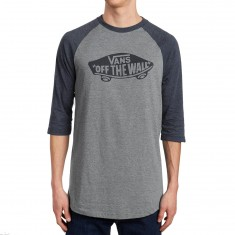 Vans OTW Raglan T-Shirt - Heather Grey/Navy Heather