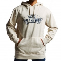 Vans OTW Pullover Fleece Hoodie - Oatmeal Heather/Dress Blues