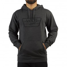 Vans Full Patch Stitch Hoodie - Black Heather