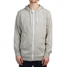 Vans Core Basics Zip Hoodie - Cement Heather