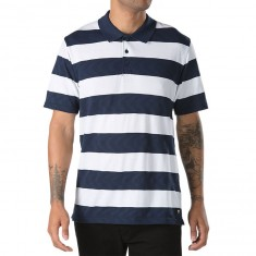 Vans X Spitfire Polo Shirt - Baby/Blue