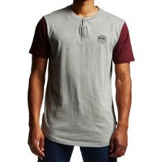 Vans Hitson II Shirt - Cement Heather/Port Royale