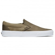 Vans Classic Slip-On Shoes - Dusky Green Nylon