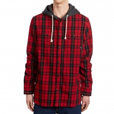 Vans Lopes Shirt - Chili Pepper/Black