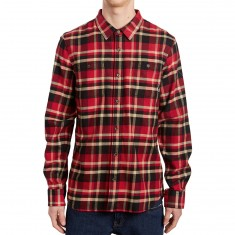 Vans Banfield II Shirt - Black/Chili Pepper