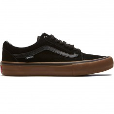 Vans Old Skool Pro Shoes - Black/Gum/Gum
