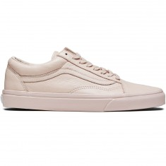 Vans Old Skool Shoes - Leather Mono/Sepia Rose