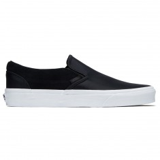 Vans Classic Slip-On Shoes - Black Nylon