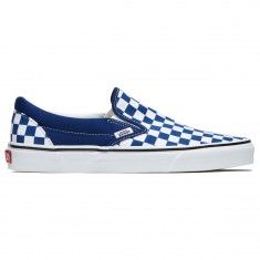 Vans Classic Slip-On Shoes - Estate Blue/True White