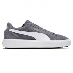 ba3bf7031a2d55 Puma Unisex Breaker Suede Shoes - Iron Gate White Iron Gate