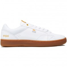 DC X Enjoi Astor S Shoes - White/Gum