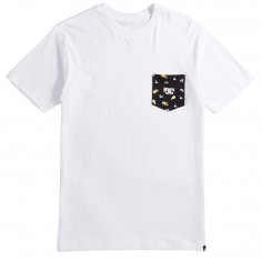 DC X Enjoi Pocket T-Shirt - Snow White