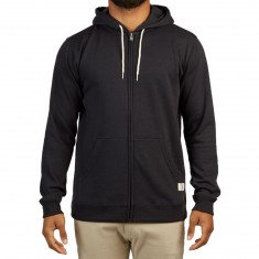 DC Rebel Zip Up Hoodie - Black