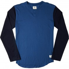 DC Basic Longsleeve T-Shirt - Washed Indigo