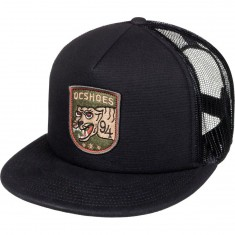 DC Worked Hat - Black