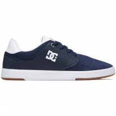 DC Plaza TC Shoes - Navy/White