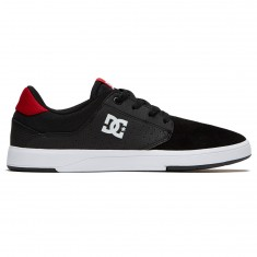 DC Plaza TC Shoes - Black/Athletic Red