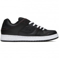 DC Manteca SE Shoes - Black/Red/White
