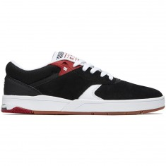 DC Tiago S Shoes - Black/Red/White