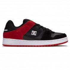 DC Manteca Shoes - Black/Athletic Red