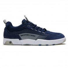 DC Legacy 98 Slim Shoes - Navy Grey 4871c30b9
