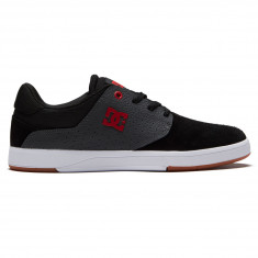 DC Plaza TC Shoes - Black Dark Grey Athletic Heather 71ea3cd04
