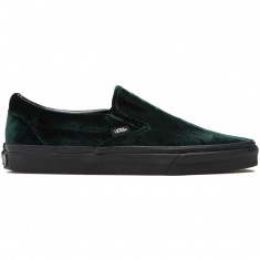 Vans Classic Slip-On Shoes - Green/Black