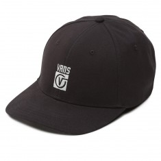 Vans Worldwide Curved Bill Jockey Hat - Black