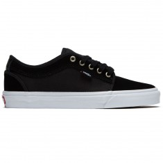 Vans Chukka Low Shoes - Black/White/Chili Pepper