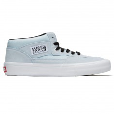 Vans Half Cab Pro Shoes - Baby Blue/White
