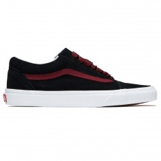 Vans Old Skool Shoes - Black/Port Royale