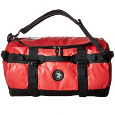 Vans X The North Face Base Camp Duffle Bag - Red/Black