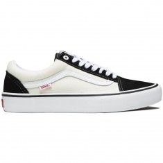 Vans Old Skool Pro Shoes - Black/White/White