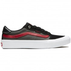 'Vans X Spitfire Style 112 Pro Shoes - Black' from the web at 'https://cdn.ccs.com/media/catalog/product/cache/4/small_image/235x/9df78eab33525d08d6e5fb8d27136e95/1/9/191476538552-1.1509683077.jpg'