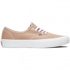 Vans Authentic Pro Shoes - Mahogany Rose/White