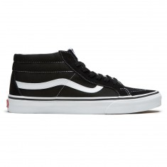 Vans Sk8-Mid Reissue Shoes - Black/True White
