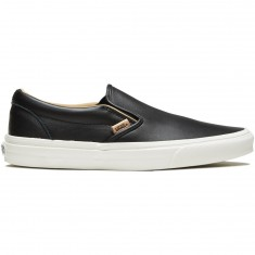 Vans Classic Slip-On Shoes - Black/Porcini