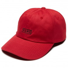 Vans Vans Curved Bill Jockey Hat - Chili Pepper