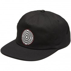 Vans Checkered Shallow Unstructured Hat - Black