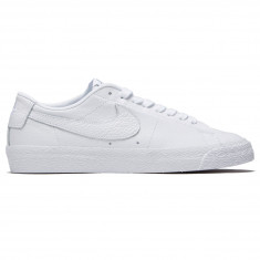Nike SB Zoom Blazer Low NBA Shoes - White White Rush Blue University 113b750e2dd7b