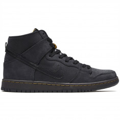 f97e77ec42270 Nike SB Zoom Dunk High Pro Deconstructed Premium Shoes - Black Black Velvet  Brown
