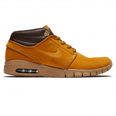 1644dd44376a Nike SB Stefan Janoski Max Mid Premium Shoes - Bronze Bronze Gum Light Brown